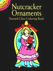 Nutcracker Ornaments Stained Glass Coloring Book